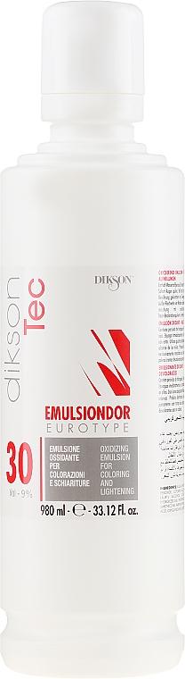 Universal Oxidizing Emulsion 9% - Dikson Tec Emulsiondor Eurotype 30 Volumi