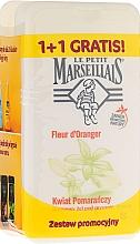 "Fragrances, Perfumes, Cosmetics Set ""Orange Blossom"" - Le Petit Marseillais (sh/gel/250ml + sh/gel/250ml)"