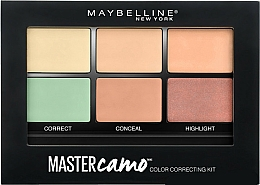 Fragrances, Perfumes, Cosmetics Color Correcting Concealer Kit - Maybelline Master Camo Color Correcting Concealer Kit