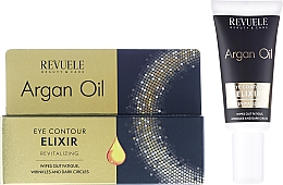 Fragrances, Perfumes, Cosmetics Rejuvenating Elixir for Eye Conrour - Revuele Argan Oil Elixir