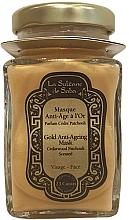 Fragrances, Perfumes, Cosmetics Face Mask - La Sultane De Saba Gold & Champagne Gold Anti-Ageing Mask