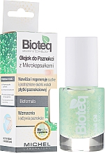 Fragrances, Perfumes, Cosmetics Nail Oil with Microcapsule s - Bioteq Nail Oil With Microcapsules