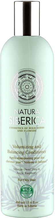 "Volumizing Conditioner for Oily Hair ""Volume and Balance"" - Natura Siberica — photo N1"