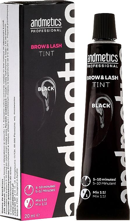 Brow & Lash Tint - Andmetics Brow & Lash Tint