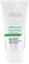 Fragrances, Perfumes, Cosmetics Antibacterial Face Mask with Green Algae - Bielenda Professional Face Program Antibacterial Face Mask with Green Clay