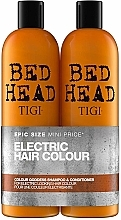 Fragrances, Perfumes, Cosmetics Set - Tigi Bed Head Colour Godess (sh/750ml + cond/750ml)