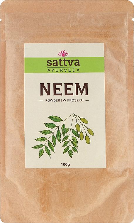"""Ayurvedic Hair & Face Powder """"Neem"""" - Sattva"""