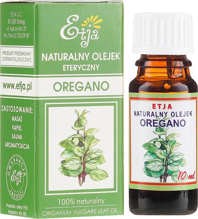 """Natural Essential Oil """"Oregano"""" - Etja Natural Origanum Vulgare Leaf Oil"""