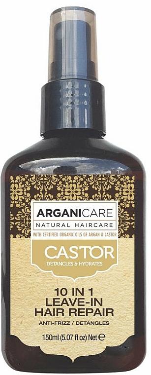 10-in-1 Hair Serum - Argaincare Castor Oil 10-in-1 Hair Repair
