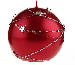 Fragrances, Perfumes, Cosmetics Red Decorative Candle, 10x10cm - Artman Christmas Garland