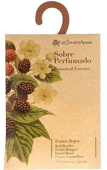 "Scented Sachet ""Red Berries"" - La Casa de Los Botanical Essence Red Berries Scented Sachet"