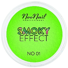 "Fragrances, Perfumes, Cosmetics Neon Nail Pigment ""Smoky Effect"" - NeoNail Professional Smoky Effect (01 -Green)"