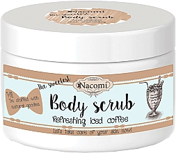 Fragrances, Perfumes, Cosmetics Body Scrub with Shea Butter and Coffee - Nacomi Natural Body Scrub Refreshing Iced Cofee