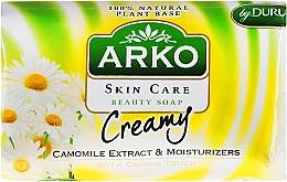 Fragrances, Perfumes, Cosmetics Soap - Arko Beauty Soap Creamy Chamomile Soap