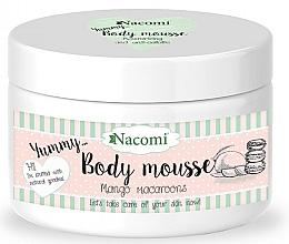 "Fragrances, Perfumes, Cosmetics Body Mousse ""Mango Macaroon"" - Nacomi Body Mousse"
