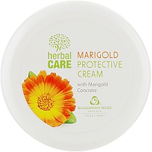 "Fragrances, Perfumes, Cosmetics Protective Cream ""Calendula"" - Bulgarian Rose Marigold Protective Cream"