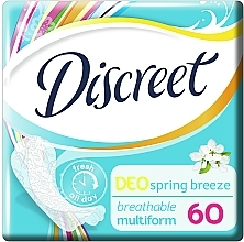 Daily Deo Spring Breeze Liners , 60 pcs - Discreet — photo N1
