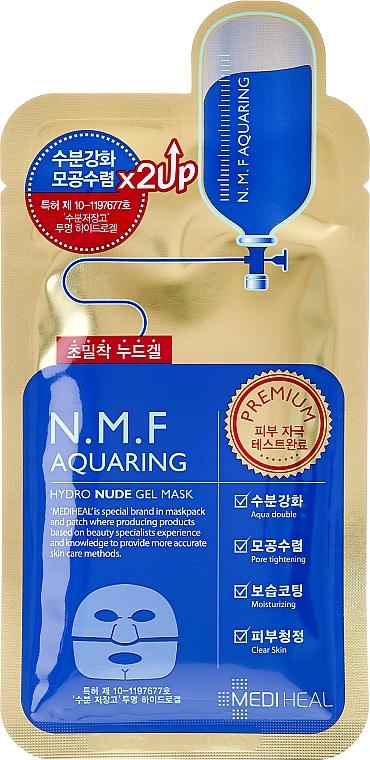 Hydrogel Facial Mask - Mediheal N.M.F Aquaring Hydro Nude Gel Mask