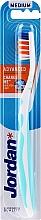 Fragrances, Perfumes, Cosmetics Toothbrush Medium Advanced, blue - Jordan Advanced Medium