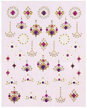 Fragrances, Perfumes, Cosmetics Nail Art Stickers - Peggy Sage Decorative Nail Stickers Luxury