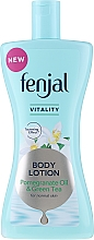 Fragrances, Perfumes, Cosmetics Pomegranate Oil and Green Tea Body Lotion - Fenjal Vitality Body Lotion Pomegranate Oil & Green Tea