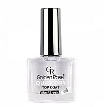 Fragrances, Perfumes, Cosmetics Nail Dry Top Coat - Golden Rose Quick Dry Top Coat