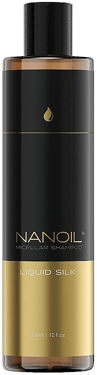 Liquid Silk Micellar Shampoo - Nanoil Liquid Silk Micellar Shampoo