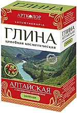 "Fragrances, Perfumes, Cosmetics Cosmetic Green Clay ""Altai"" with Rose Hips Extract - Artcolor"