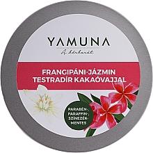 Fragrances, Perfumes, Cosmetics Cocoa Butter Body Scrub - Yamuna Frangipani-Jasmine Body Scrub With Cocoa Butter