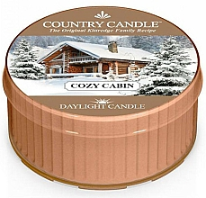 """Fragrances, Perfumes, Cosmetics Tea Light """"Cozy Cabin"""" - Country Candle Cozy Cabin Daylight"""