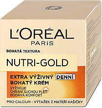Facial Day Care - L'Oreal Paris Dermo-Expertise Nutri Gold — photo N2