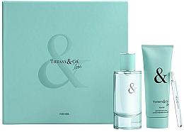 Fragrances, Perfumes, Cosmetics Tiffany & Co Tiffany & Love For Her Gift Set - Set (edp/90ml + edp/4ml + b/lot/100ml)