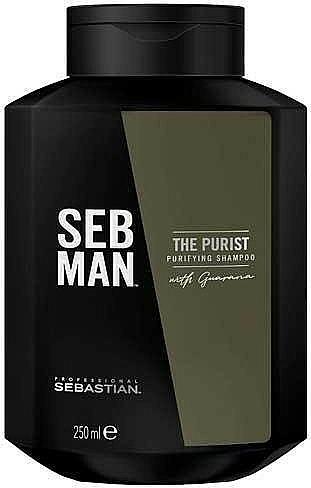 Hair Shampoo - Sebastian Professional Seb Man The Purist Purifying Shampoo