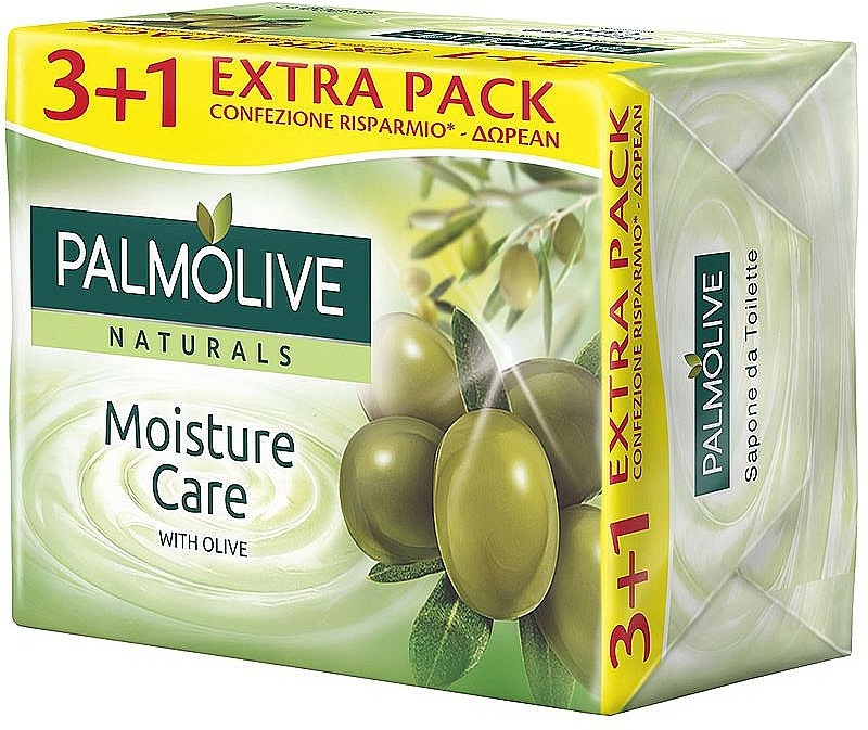 """Soap """"Olive and Milk"""" - Palmolive Naturals Moisture Care With Olive Soap"""