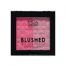 Fragrances, Perfumes, Cosmetics Face Blush Duo - MUA Blushed Powder Colour Duo
