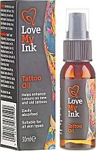 Fragrances, Perfumes, Cosmetics Tattoo Care Oil - Love My Ink Tattoo Oil