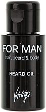 Fragrances, Perfumes, Cosmetics Beard Oil - Vitality's For Man Beard Oil