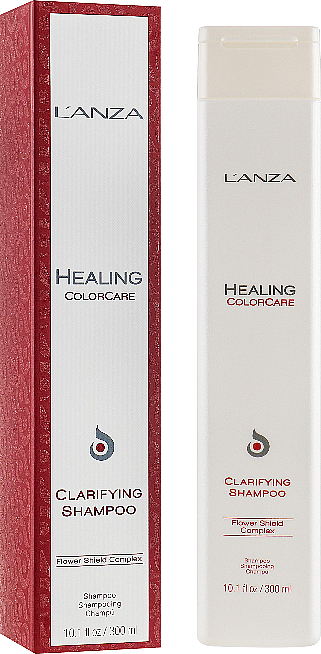 Deep Cleansing Shampoo for Colored Hair - L'Anza Healing ColorCare Clarifying Shampoo