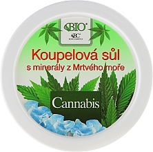 Fragrances, Perfumes, Cosmetics Bath Salt - Bione Cosmetics Cannabis Bath Salt with Dead Sea Minerals