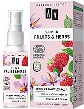 Fragrances, Perfumes, Cosmetics Moisturizing Face Mist - AA Super Fruits & Herbs