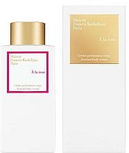 Fragrances, Perfumes, Cosmetics Maison Francis Kurkdjian À La Rose - Body Cream