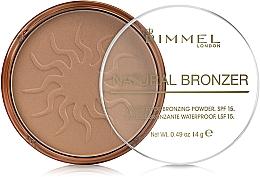 Fragrances, Perfumes, Cosmetics Bronzing Powder - Rimmel Natural Bronzer Powder