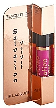 Fragrances, Perfumes, Cosmetics Lip Lacquer - Makeup Revolution Salvation Velvet Lip Lacquer