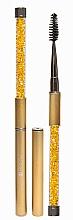 Fragrances, Perfumes, Cosmetics Lash & Brow Brush, golden - Lash Brow Gold
