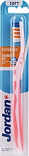 Fragrances, Perfumes, Cosmetics Toothbrush Soft, pink - Jordan Advanced Soft Toothbrush