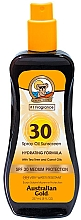 Fragrances, Perfumes, Cosmetics Sunscreen Spray - Australian Gold Spray Oil Hydrating Formula SPF30