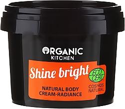 "Fragrances, Perfumes, Cosmetics Natural Body Cream ""Shine Bright"" - Organic Shop Organic Kitchen Cream"