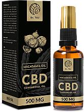 Fragrances, Perfumes, Cosmetics Natural Macadamia Oil CBD 500mg - Dr. T&J Bio Oil