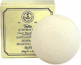 Fragrances, Perfumes, Cosmetics Sandalwood Shaving Soap (refill) - Taylor Of Old Bond Street Sandalwood Herbal Shaving Soap Refill