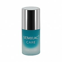 "Fragrances, Perfumes, Cosmetics Manicure Oil ""Coconut"" - Semilac Care Manicure Oil Coconut"